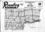 Index Map, Muscatine County 1980